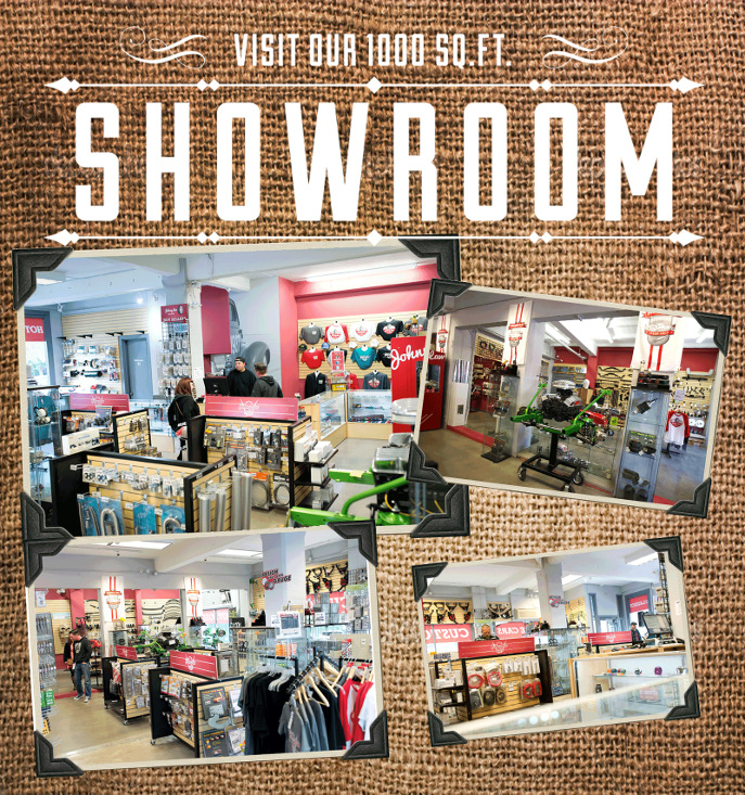 Visit our 1000 sq.ft. showroom!